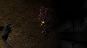 Бессовестная Морта царя обнимает трупик в Затерянном Храме