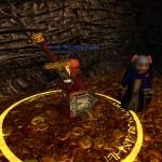 Чудинка приносит себя в жертву Верховному Багу, перед рейдом на Драйгоха